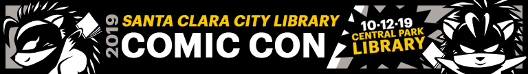 2019 Santa Clara City Library Comic Con 10-12-19 Central Park Library