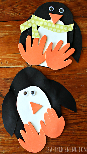 Family Craft Night Penguins
