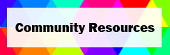 Pride 2020 Community Resources